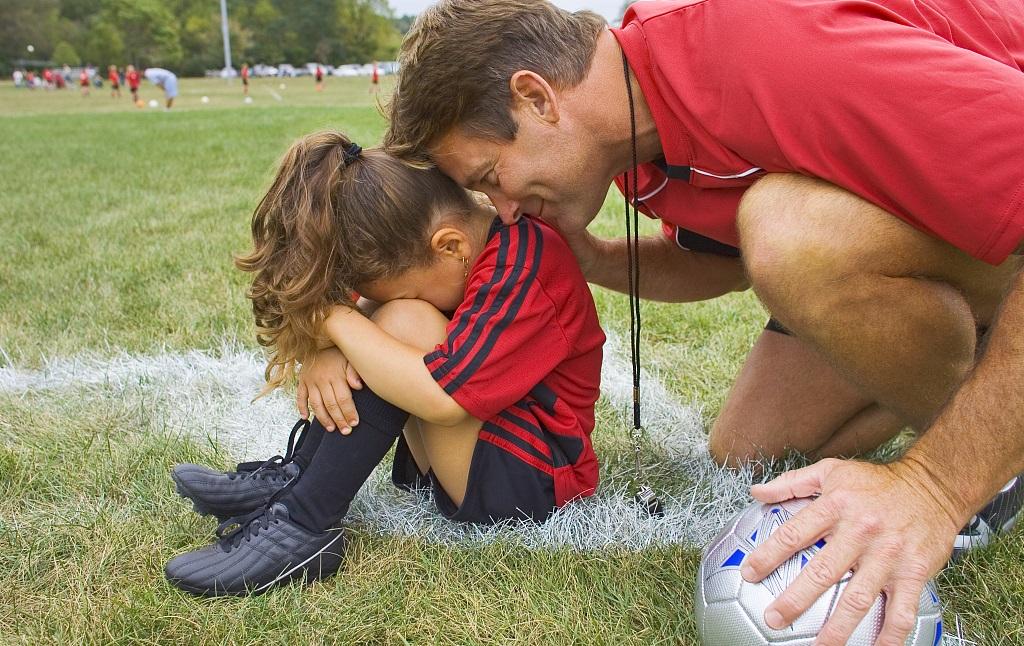 女子足球培训课