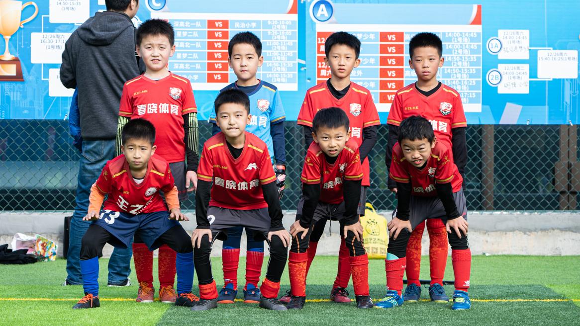 深圳青少年足球培训