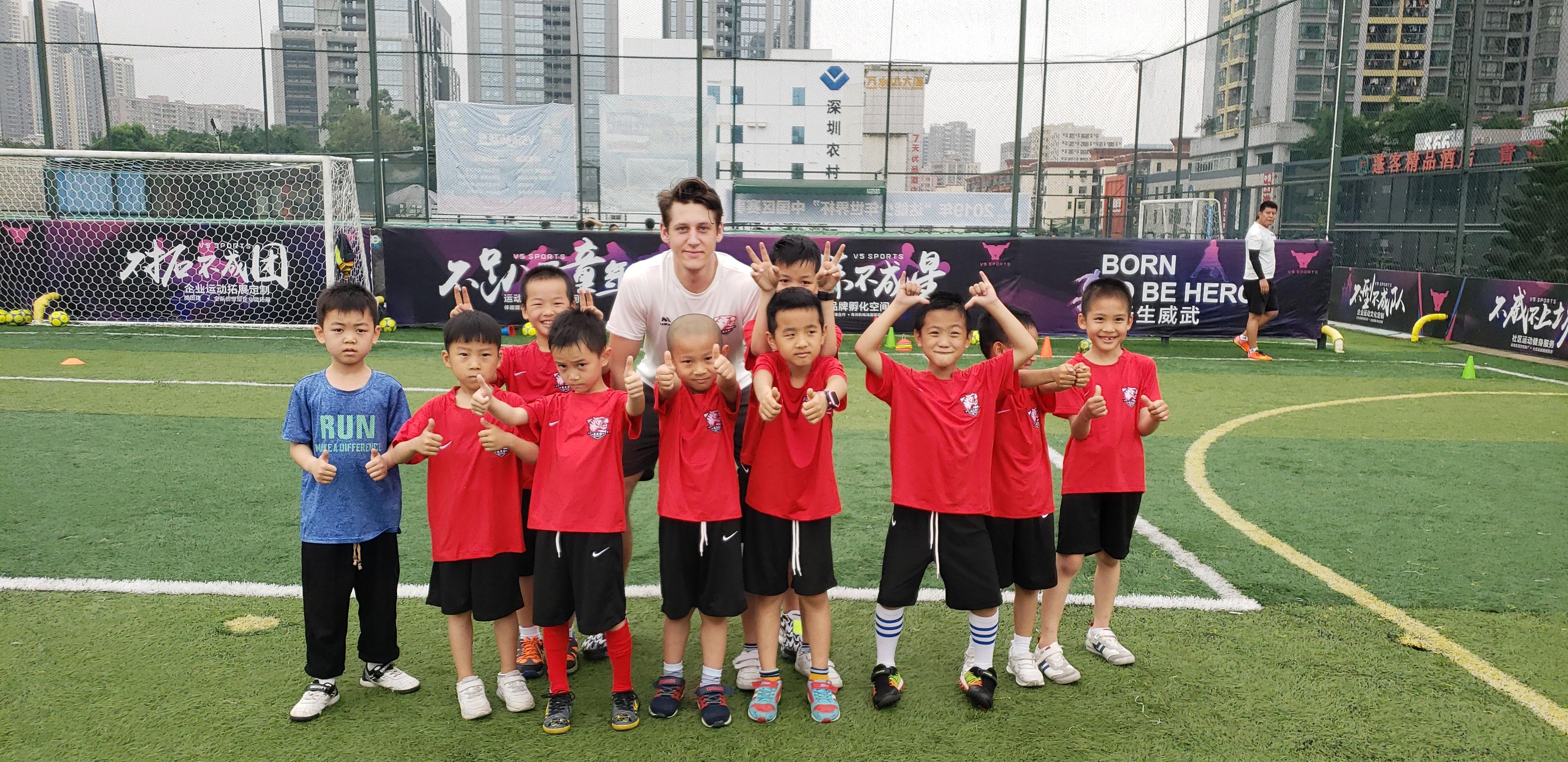深圳足球培训