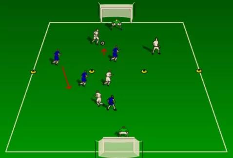 王之者足球:教你在不同场景下的防守练习