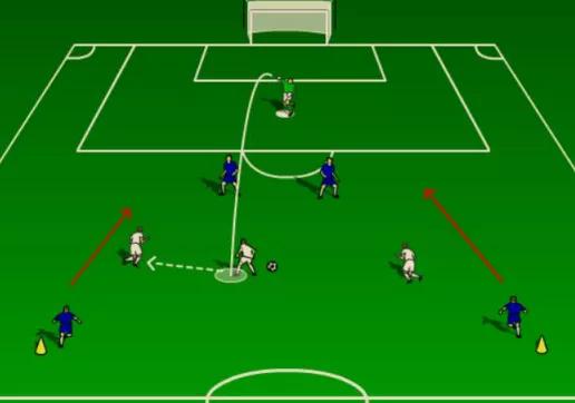 【深圳王之者足球培训】如何提高足球队员以少打多的能力?